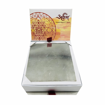 Picture of ARKAM Bhuvaneshwari Yantra - Silver Plated Copper (For achieving deep meditation and knowledge) - (6 x 6 inches, Silver)