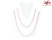 Picture of Arkam Rose Quartz Mala/ Semi Precious Stone Mala (Size: 8mm, Length: 40 inches, Beads: 108+1) with Gaumukhi
