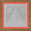Picture of ARKAM Mangal Yantra - Silver Plated Copper (For appeasement of planet Mars) - (4 x 4 inches, Silver) with Framing