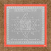 Picture of ARKAM Vaastu Devata Yantra - Silver Plated Copper (For appeasement of Vaastu Devta) - (4 x 4 inches, Silver) with Framing