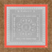 Picture of ARKAM Vasheekaran Yantra - Silver Plated Copper (For controlling someone else) - (4 x 4 inches, Silver) with Framing