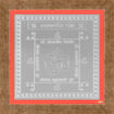Picture of ARKAM Akarshan Yantra - Silver Plated Copper (For attracting the desired one) - (6 x 6 inches, Silver) with Framing