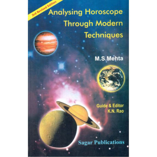 Picture of Analysing Horoscope through Modern Techniques - English - Sagar Publications