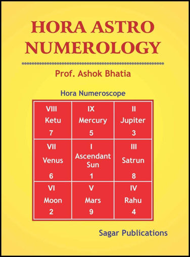 Picture of Hora Astrology Numerology - English - Sagar Publications
