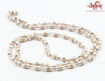Picture of Arkam Silver Capped Tulsi Mala/ 100% Natural Tulsi Mala with Silver Capping/ Original Tulsi mala set in Silver (Size: 3mm, Length: 24 inches)