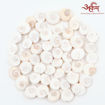Picture of Arkam Gomti Chakra / Gomati Chakra / White Gomti Chakra / Original Premium Quality for Puja 12-15 mm - Set of 51 Pcs