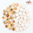 Picture of Arkam Gomti Chakra / Gomati Chakra / White Gomti Chakra / Original Premium Quality for Puja 22-25 mm - Set of 51 Pcs