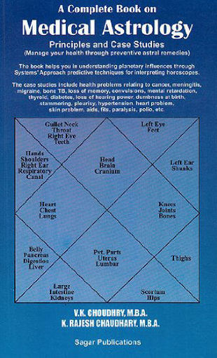 Picture of Medical Astrology (Manage Your Health through Astral Remedies) - English - Sagar Publications