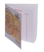 Picture of Arkam Tripura Bhairavi Yantra - Gold Plated Copper (For protection and safe journeys) - (6x6 inches, Golden)