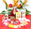 Picture of ARKAM Ganesh Puja Samagri Kit for Ganesh Pujan/Ganpati Pujan/Ganesh Chaturthi Puja/Ganesh Utsav (30+ Items) with Detailed Puja Vidhi in Hindi
