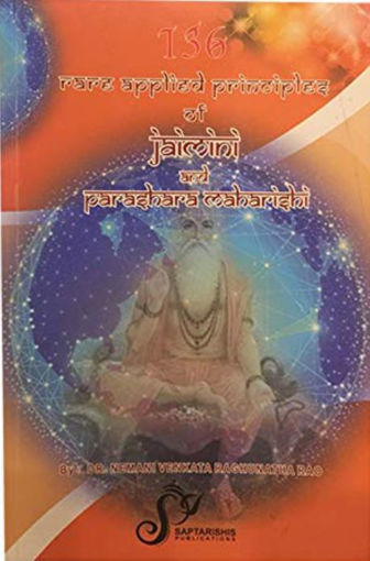 Picture of 136 Rare Applied Principles of Jaimini and Parashara Maharishi - English - Saptrishi Publications