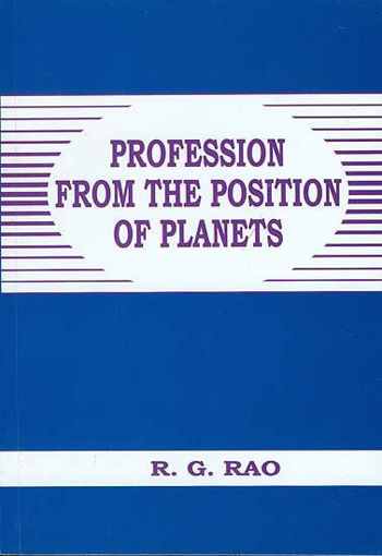 Picture of Profession from the position of planets - English - Sagar Publications