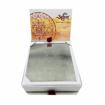 Picture of ARKAM Chausath Yogini Yantra / 64 Yogini Yantra - Silver Plated Copper - (4 x 4 inches, Silver)