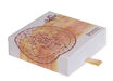 Picture of ARKAM Trishul Beesa Yantra / Trishul Bisa Yantra - Silver Plated Copper - (6 x 6 inches, Silver)