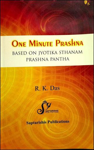 Picture of One Minute Prashna Based On Jyotika Sthanam Prashna Pantha - English - Saptrishi Publications